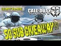 50 SUBS GIVEAWAY MINITAGE! | COD GHOSTS GAMEPLAY