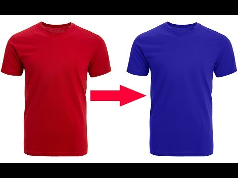 Change T-shirt Color In Photoshop|how To Change Color Of T- Shirt To Blue In Photoshop