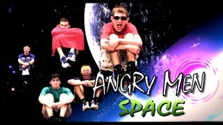 ANGRY MEN SPACE (a parody of Angry Birds Space)