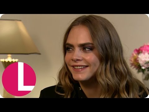 Cara Delevingne's Final Appearance Before Quitting Modelling | Lorraine