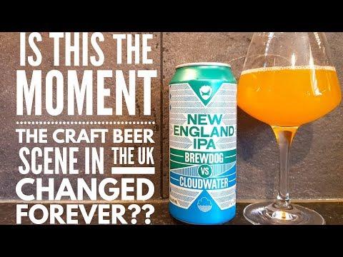 Brewdog Vs Cloudwater New England IPA | British Craft Beer Review