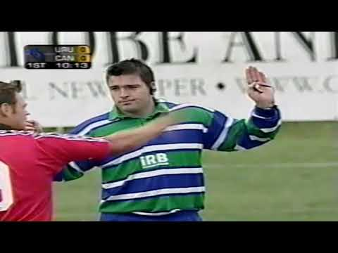 rugby Canada test vs Uruguay Edmonton 2002