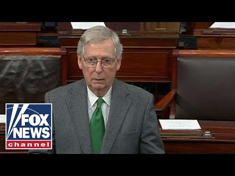 McConnell slams Democrat wall opposition: 'Partisan spite'