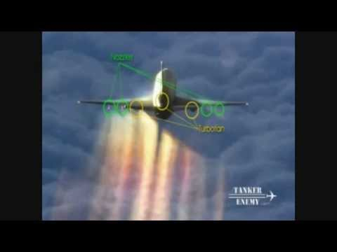 ChemTrail Proof: 2 guys in Jet catches them spraying Chemicals Trails ~ Chem Trails ~ (mirror)