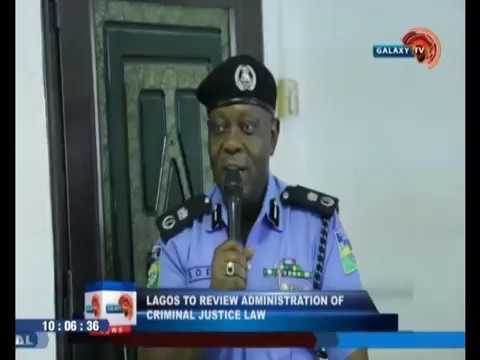 Lagos to review administration of criminal justice law
