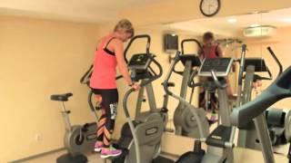 Тренировки с Алисой Родионовой. Упражнения на элипсоиде и степпере