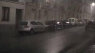 orage Paris 16 juillet