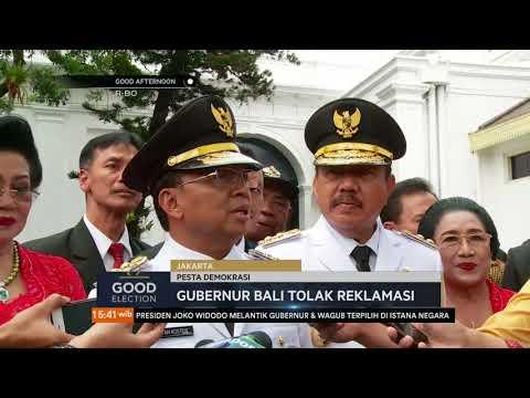 I Wayan Koster Sebagai Gubernur Bali Menolak Reklamasi