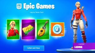 Starter Pack Season 8 Free - *Free* V Bucks with Laguna Starter Pack (Fortnite Battle Royale)