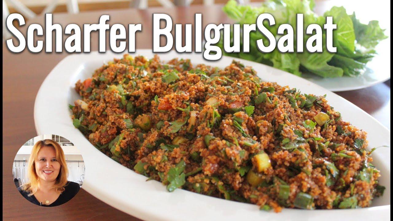 KISIR / Türkischer Bulgursalat | pikant, gesund, vegan | idealer Party-Grill-Salat l Canans Rezepte