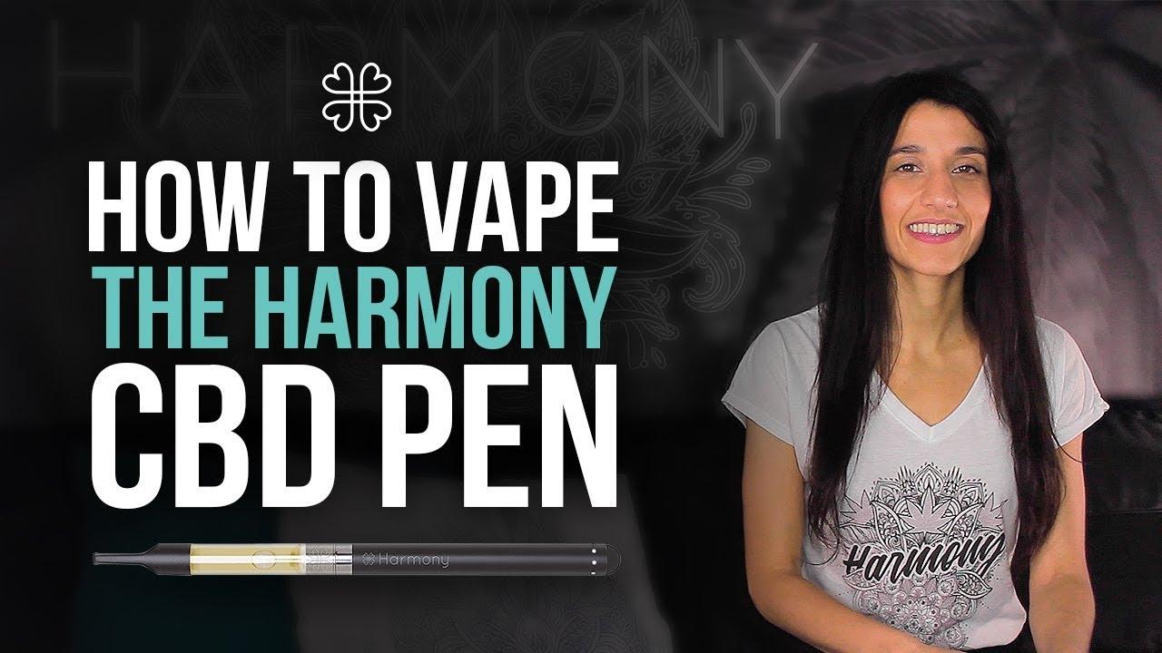 video Harmony CBD Pen Kit – Bút hóa hơi CBD từ Harmony