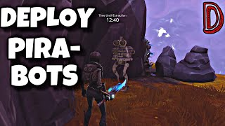 DEPLOY PIRA-SEE BOTS | SEE WOLF | FORTNITE SAVE THE WORLD