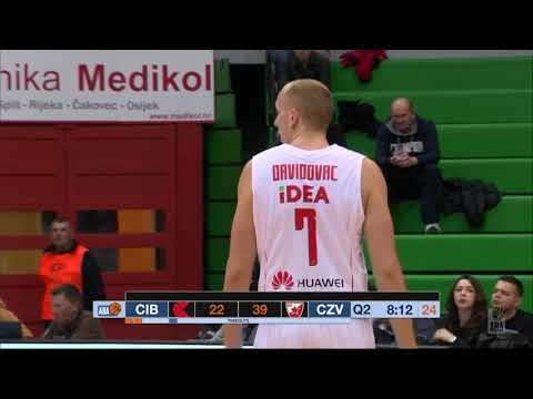 ABA Liga 2017/18 highlights, Round 11: Cibona - Crvena zvezda mts (11.12.2017)