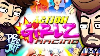 WHY ARE WE DOING THIS? - Action Girlz Racing | Wii