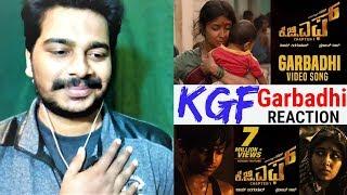 KGF: Garbadhi Video Song #REACTION | KGF Kannada Movie | Yash | Oye Pk | Prashanth Neel |