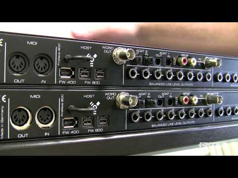 RME Fireface 800 Audio Interface Treiber Windows 7