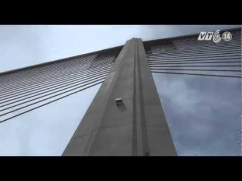 VTC14_Quảng Ninh: Cầu Bãi Cháy vẫn đảm bảo khả năng khai thác