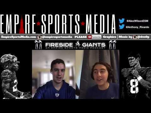 NY Giants: Fireside Giants Episode 25 (Shurmur's playcalling, Bradberry v Jenkins, A. Thomas & more)