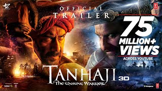 Tanhaji : The Unsung Warrior 3D Hindi Movie (2020) | Trailer