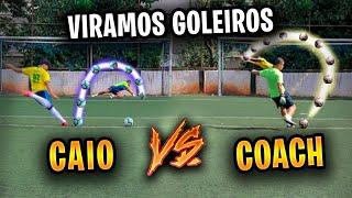 COACH É MITO ATÉ NO GOL!!! (CAIO LO vs COACH)