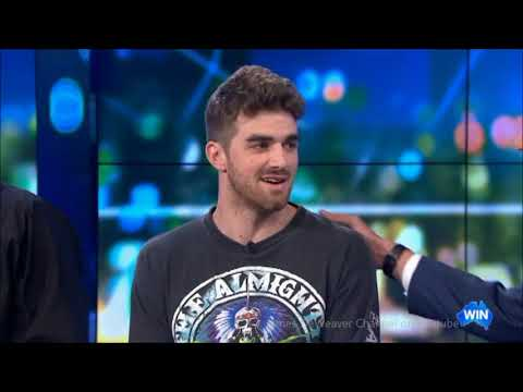 The Chainsmokers - LIVE In Australia Talking 5SOS Collaboration Tv Interview Feb. 22, 2019