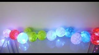 Guirnalda de luces decorativas
