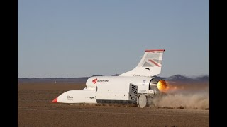 Bloodhound LSR smashes 550mph target speed