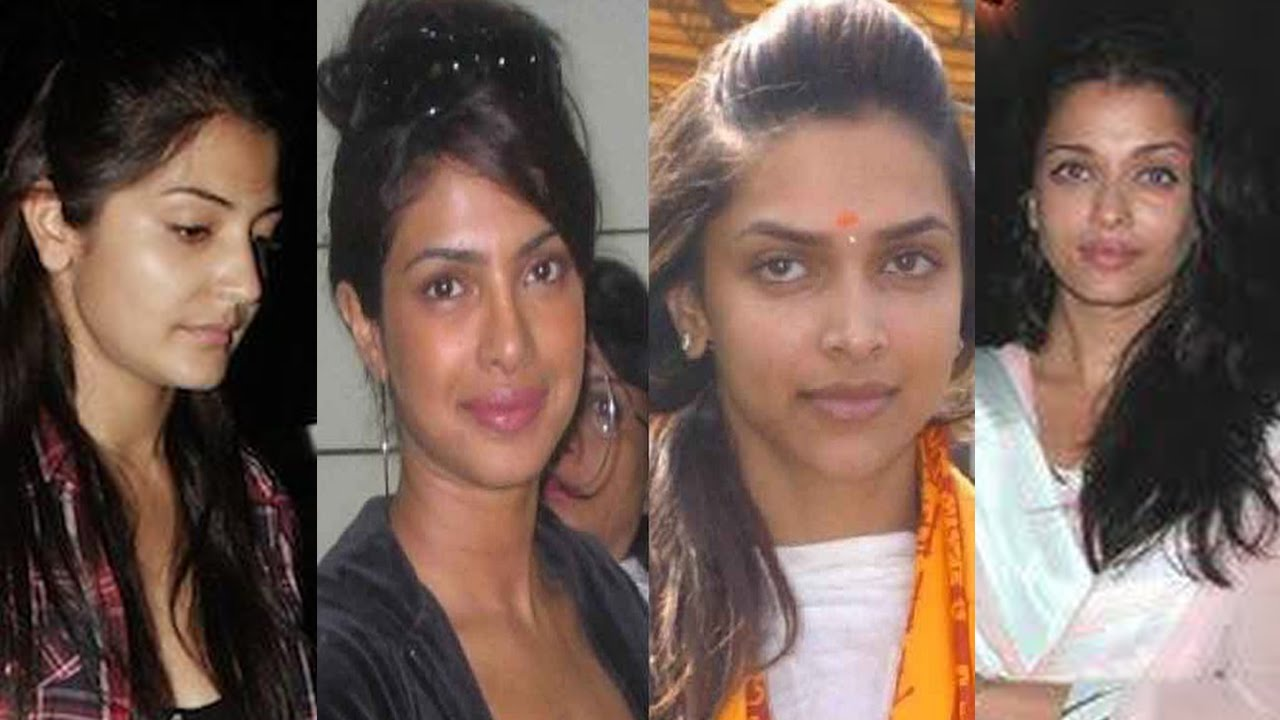 Bollywood Actresses Caught Without Makeup In Public Anushka
