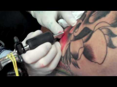 Modern Body Art Matt Hunt Tattooing Luke Johnson