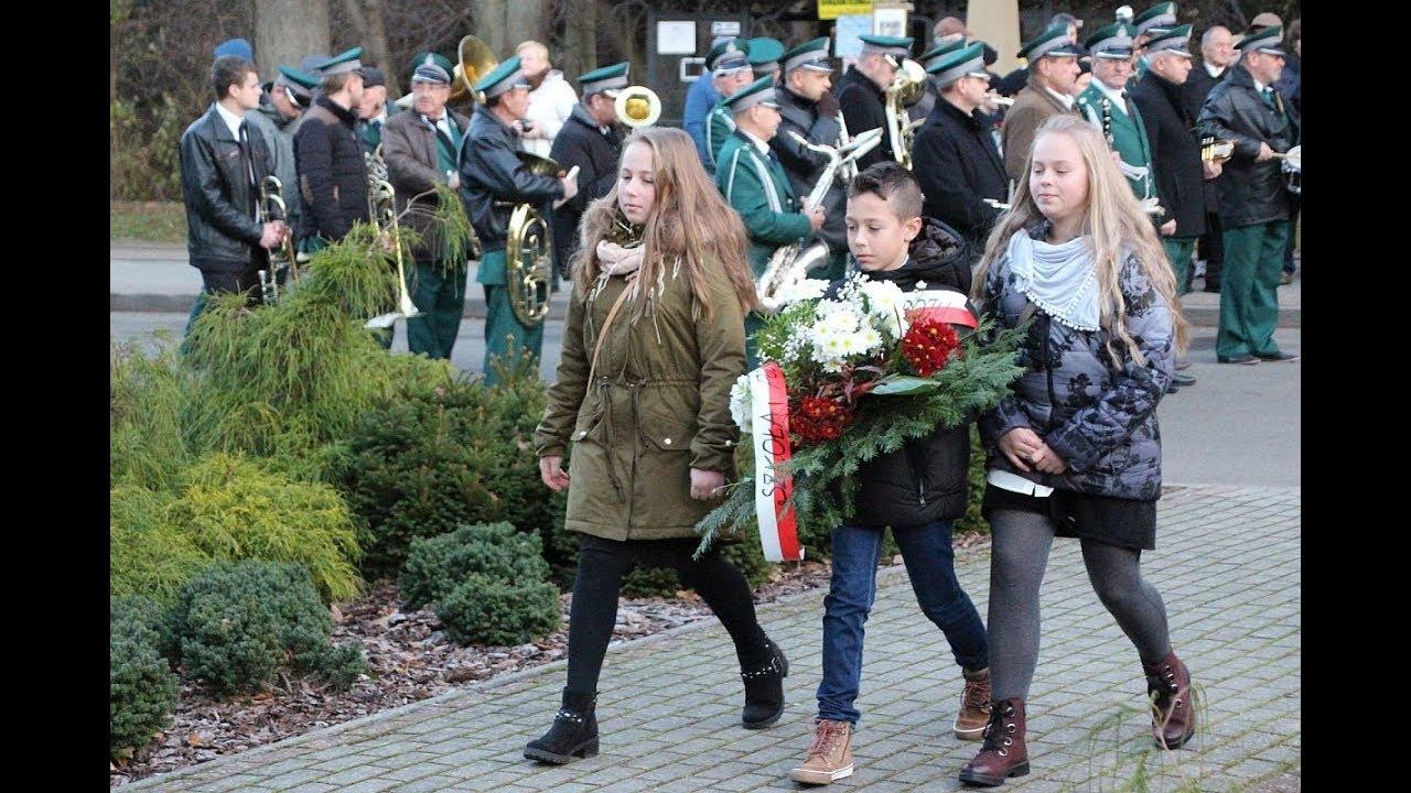 Uroczystości odzyskania przez Polskę niepodległości w Iwoniczu-Zdroju