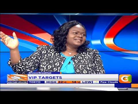 Power Breakfast: MPs have only one armed security officer-  Wanga