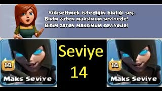 Clash Of Clans Max Night Witch.Clash Of Clans Max Gece Cadısı