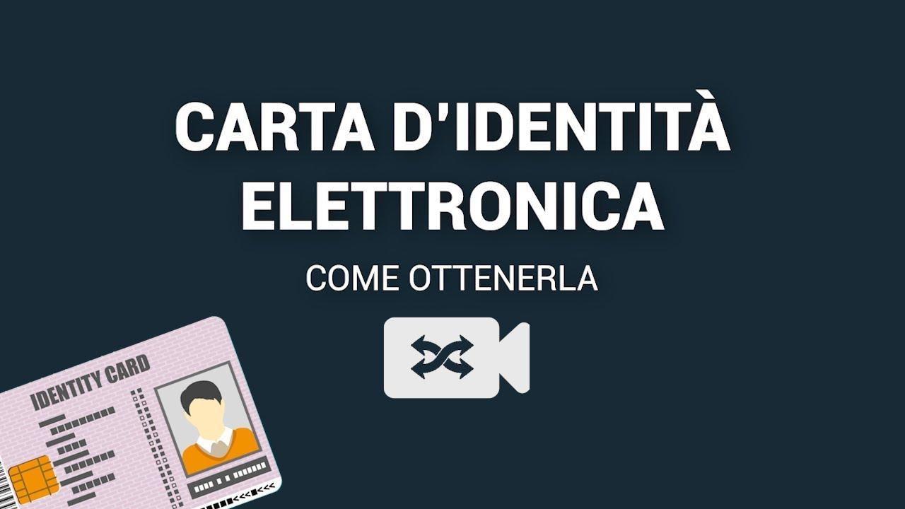 Carta Didentità Elettronica Cie Cosè Quanto Costa E Come Ottenerla Videomix