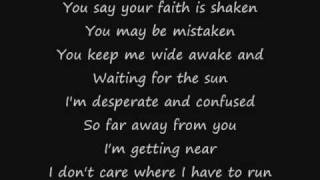 Repeat youtube video Maroon 5 - Misery (Lyrics)
