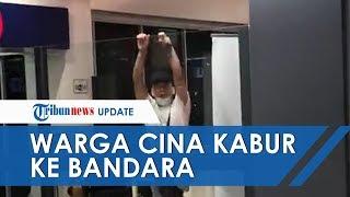 Viral! Video Warga Cina di Malaysia Kabur ke Bandara Bawa Balitanya yang Diduga Terkena Virus Corona