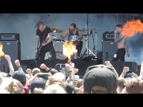 Raised Fist - Friends & Traitors, Sweden Rock 2016