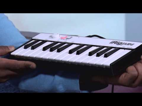 Don't just use this as a piano! iRig Keys Mini | GetConnected