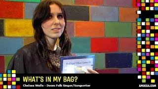 chelsea wolfe what39s in my bag?