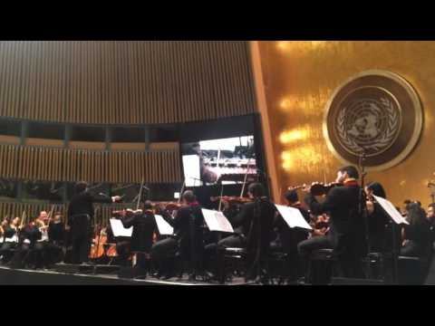 Gustavo Dudamel and Simón Bolívar Orchestra of Venezuela at United Nations (pt. 4)