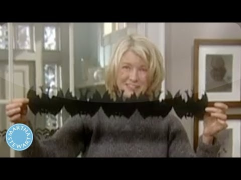 How To Create Festive Halloween Decorations   Martha Stewart