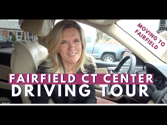 Fairfield CT Downtown: Driving Tour 2021 | Moving to Fairfield CT | Living in Fairfield CT