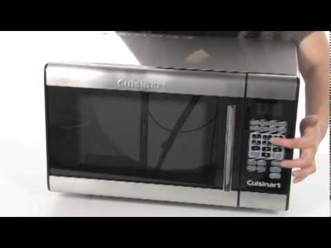 Cuisinart Stainless Steel Microwave Oven Model Cmw 100 Sku 8067839