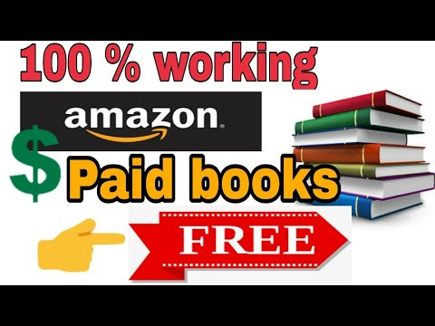 How to download all amazon paid book for free youtube.