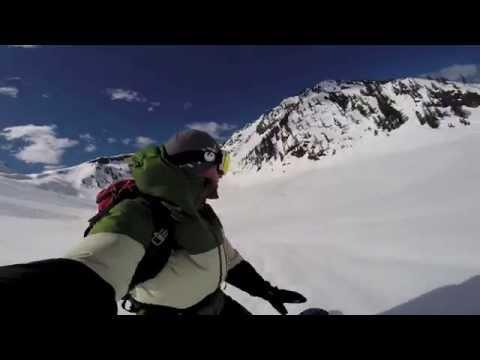 Splitboarding at Mt Baker April 12