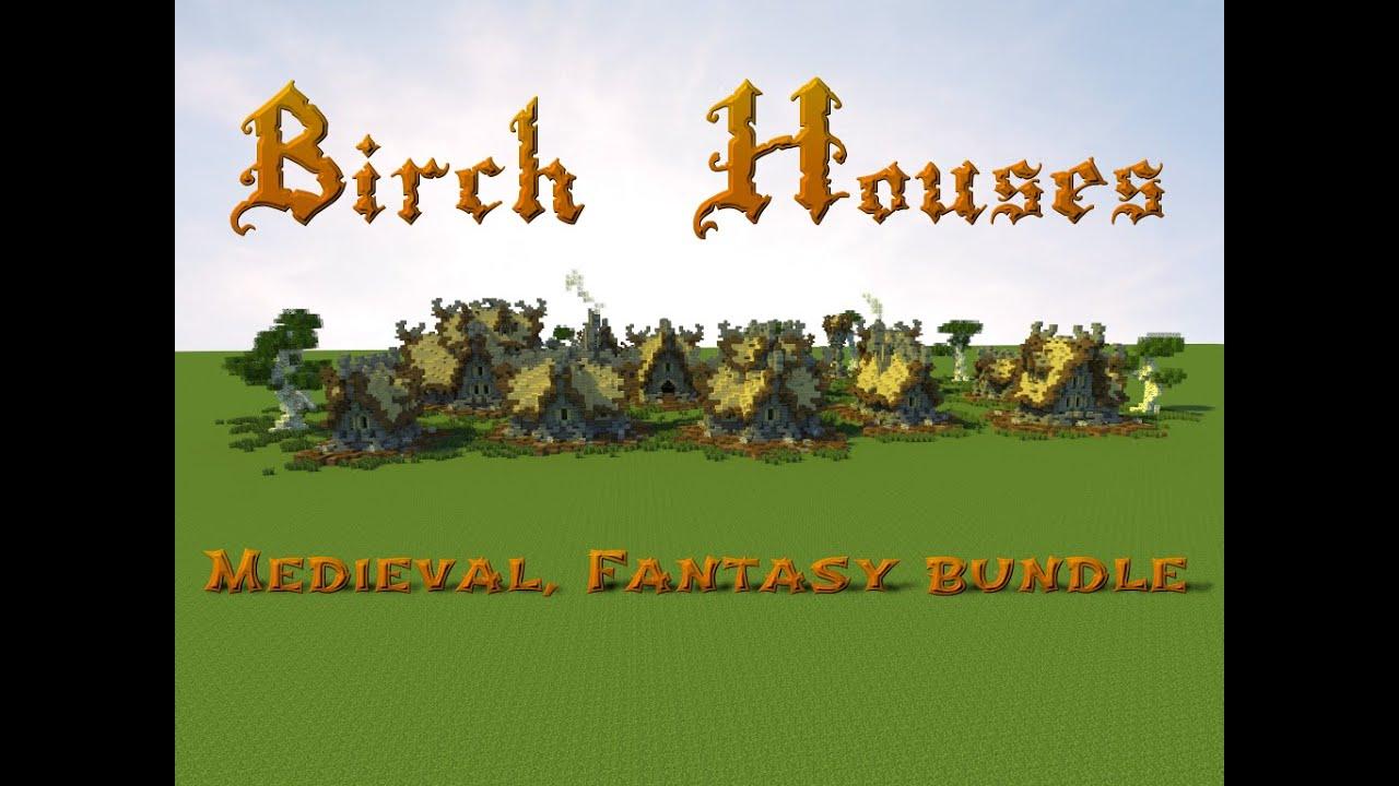 Minecraft - Nordic / Fantasy House Pack - Minecraft