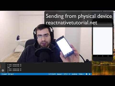 Building A ChatApp With React Native And Socket.io
