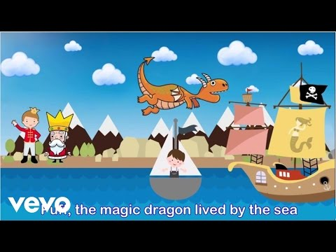 evokids - Puff The Magic Dragon (with Lyrics)