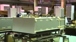 Процесс производства холодильных шкафов Капри завод МариХолодМаш(, 2013-12-17T12:25:55.000Z)