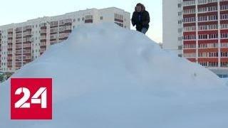 Уфа откапывается после мощнейшего снегопада