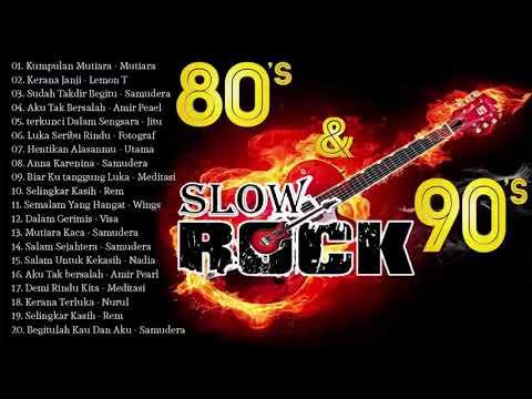 Slow Rock Malaysia 80an & 90an    Lagu Malaysia Lama Terbaik & Popular